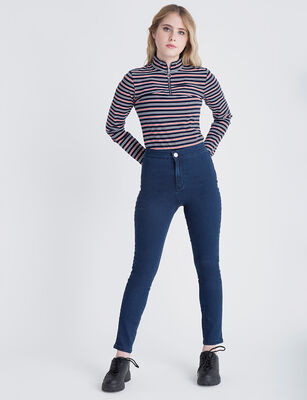 Jeans Indigo Icono Mujer M37THG9424