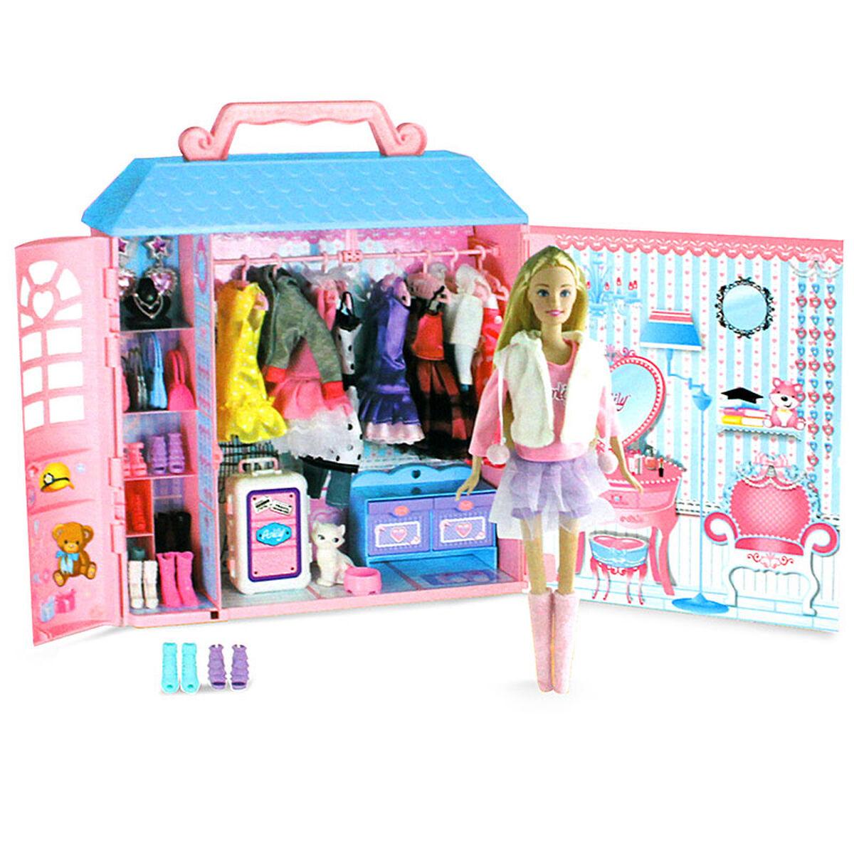 Set Wardrobe Room Anlily Armario + Gatito