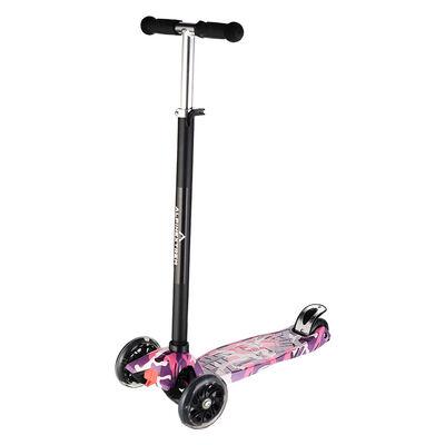 Scooter Infantil Plegable con Luces Rosado Alpinextrem