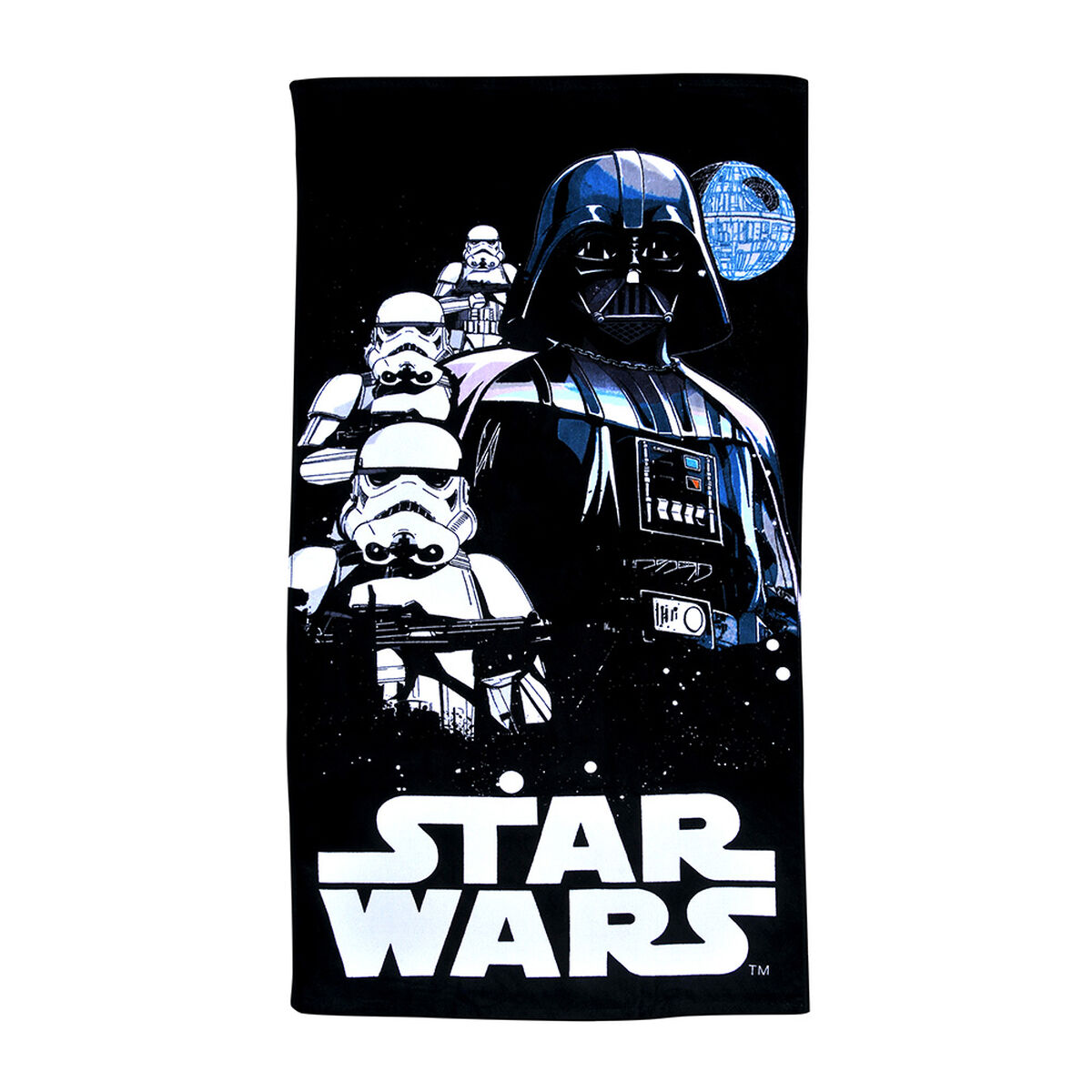 Toalla de Playa Star Wars  death 70X140 Cm