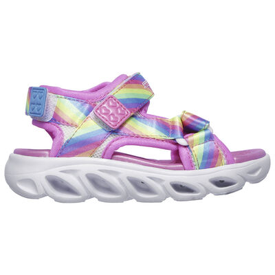 Sandalia Con Luces Niña Skechers Hypno-Splash - Rainbow