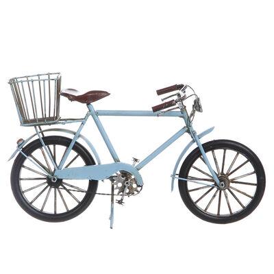 Adorno Metal Bicicleta Azul
