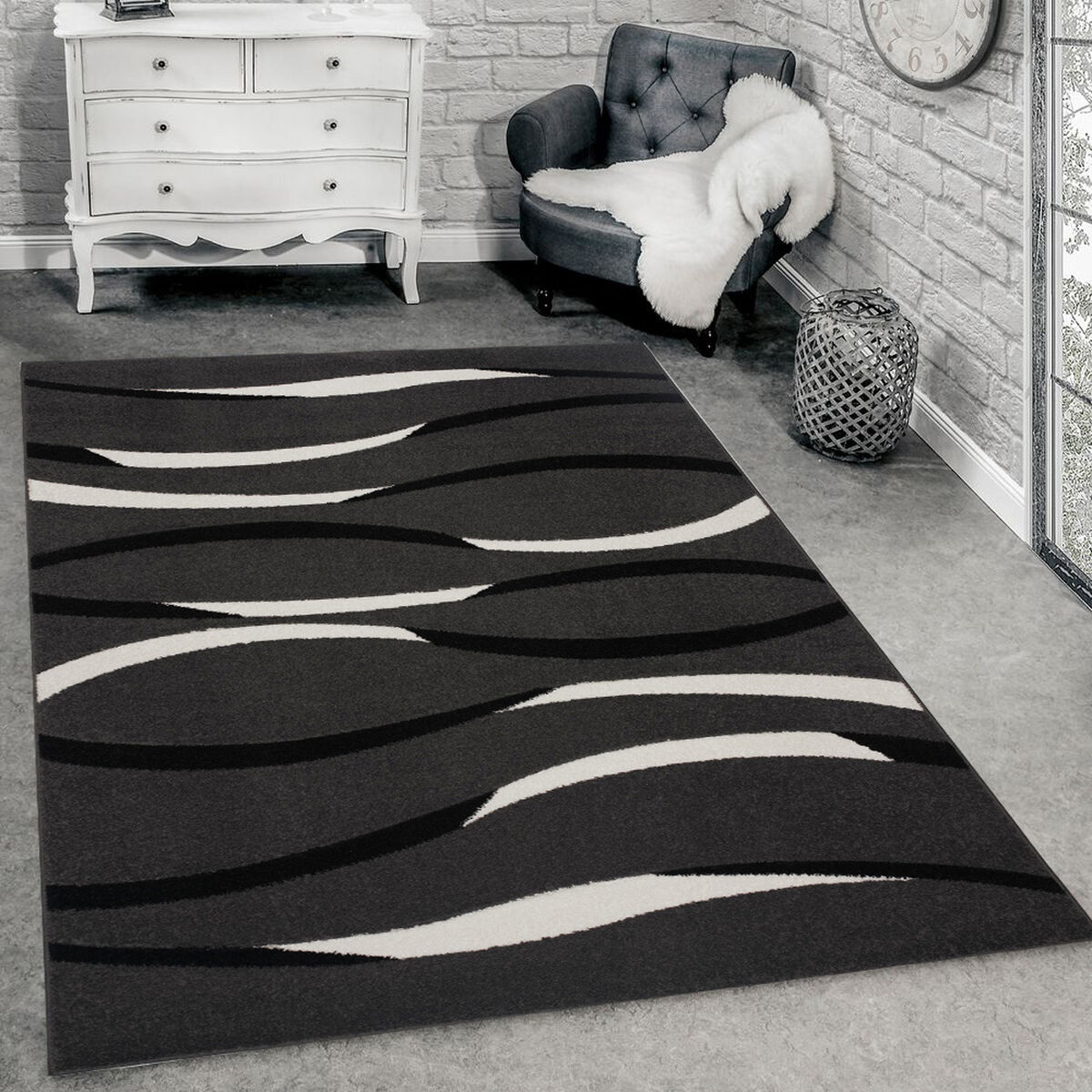 Alfombra Interior Idetex Frize Carved D6 150 x 200 cm