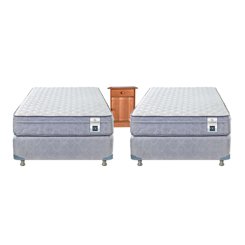 2 Boxes Americanos CIC 1 Plaza Essence 5/ Velador Gales