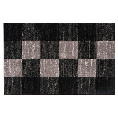 Alfombra Frize Carved D4 80X120 Cm Negro