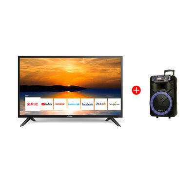 "Combo LED 32"" Hyundai HY32HS20 Smart TV HD + Parlante Portátil Master-G MG Ultra Mega"