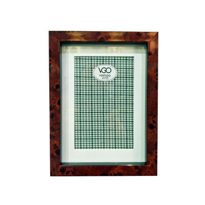 Portaretrato VGO Linea Hombre 15x20 cm Café