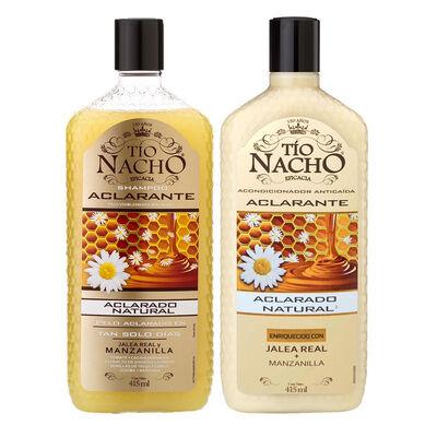 Pack Tío Nacho Aclarante Shampoo + Acondicionador