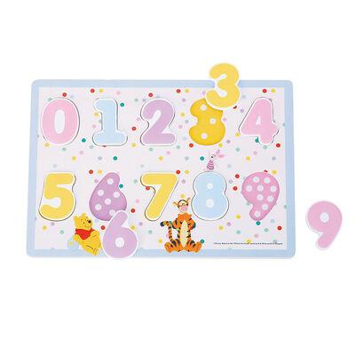 Puzzle con números Disney Junior Winnie