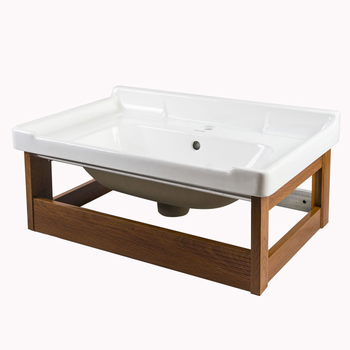 Mueble Vanitorio Britbox Coventry + Espejo + Lavamanos