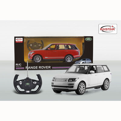 Auto R/C Rastar Range Rover Sport Blanco 1:14