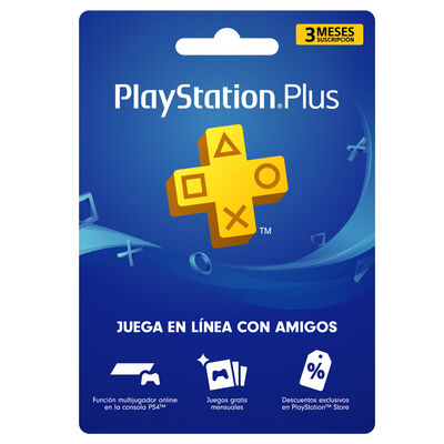 Cupón PS Store Membresía 3 Meses para PS4