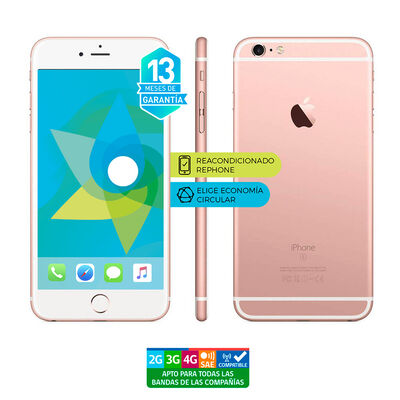 "Celular Apple Iphone 6s Plus 32GB 5.5"" ReacondicionadoRosado Liberado"