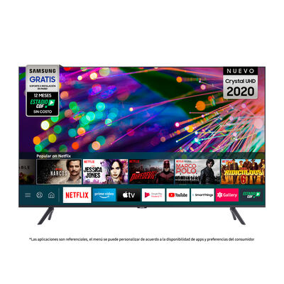 "LED 75"" Samsung TU8200 Crystal Smart TV UHD 4K 2020"