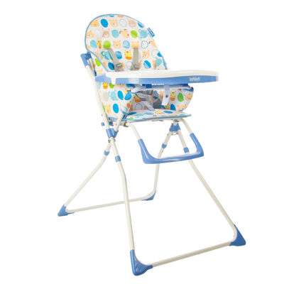 Silla Comer Candy Zoo Blue