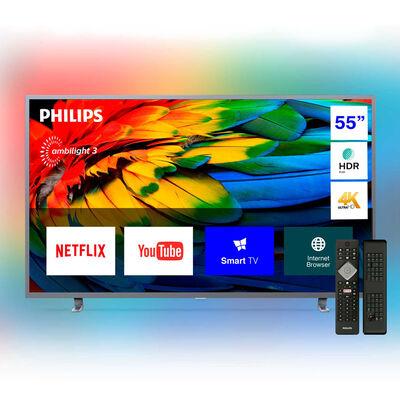 "LED 55"" Philips 55PUD6703 Smart TV Ultra HD 4K Ambilight y Teclado Qwerty"