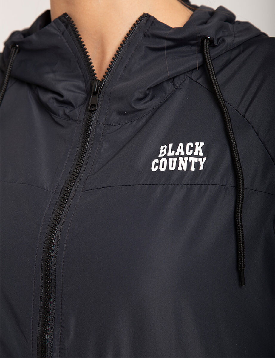 Casaca Black County Bloques