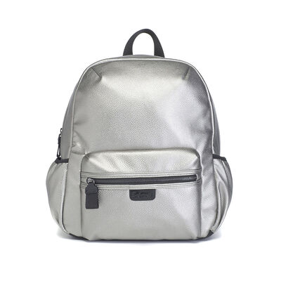 Bolso Luna Faux Leather Pewter