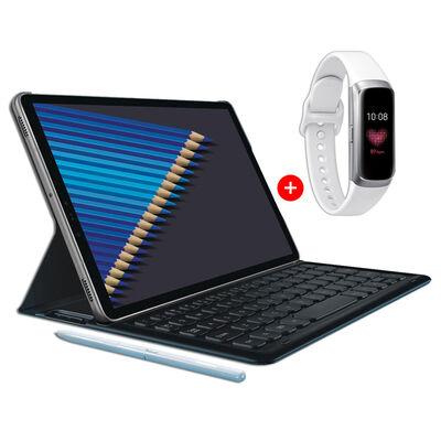 Tablet Samsung Galaxy S4 64GB con Keyboard y S Pen + SmartWatch Samsung Galaxy Fit