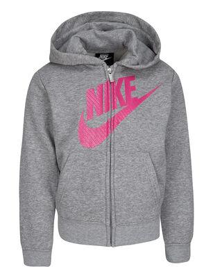 Polerón Capucha y Cierre Completo Niña Nike