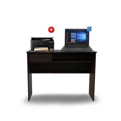 "Combo Notebook HP 240 G7 Celeron 4GB 500GB 14"" + Multifuncional Epson + Escritorio TuHome"