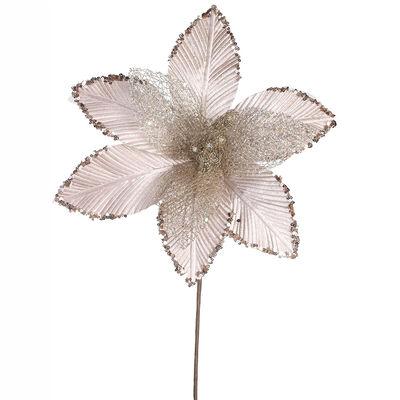Flor Decorativa Dorada Santini 35 cm