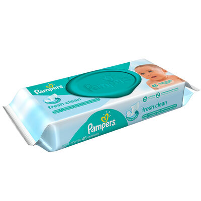 Toallitas húmedas PAMPERS FRESH CLEAN