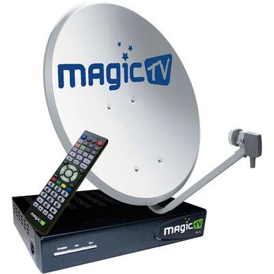 Kit Antena Satelital Magic TV R2-90