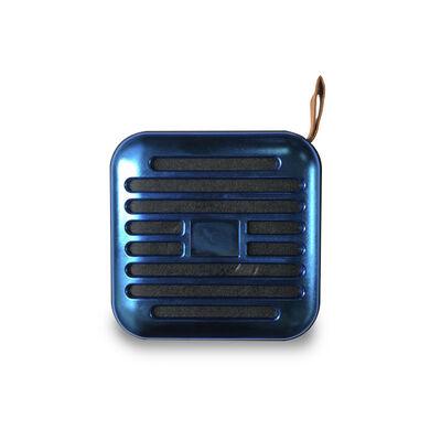 Parlante Bluetooth Lhotse T5S Plus Azul Metálico