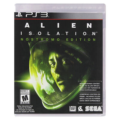 Juego PS3 Alien Isolation Nostromo Edition