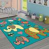 Alfombra Interior Idetex Infantil Happy Girl 100 x 133 cm