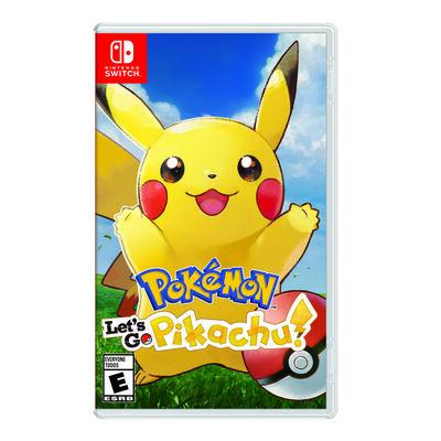 Juego Nintendo Switch Pokémon: ¡Let's Go, Pikachu!