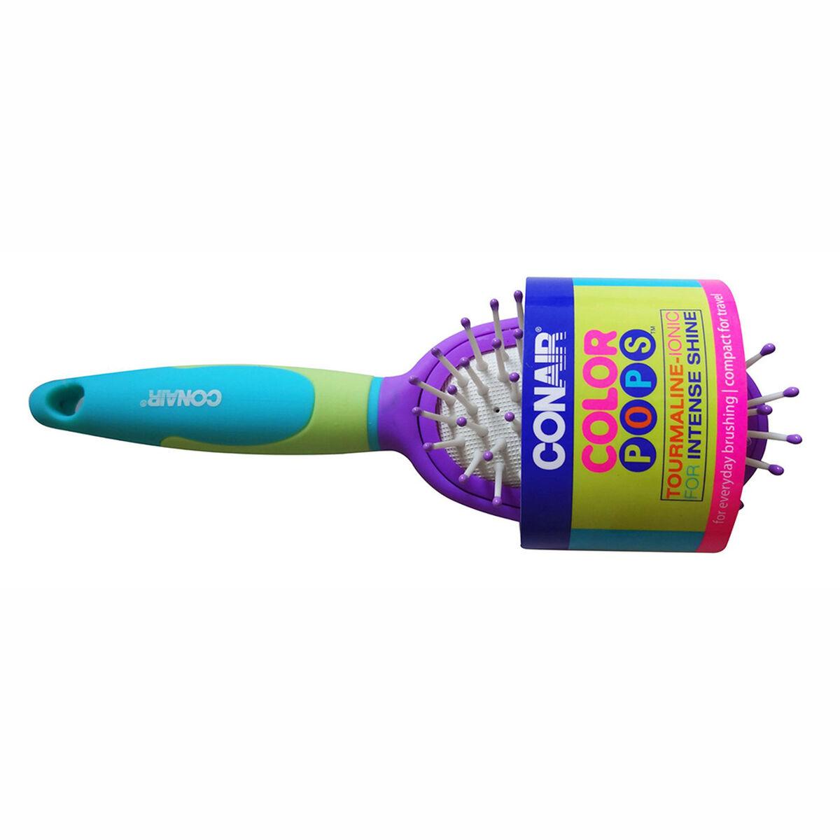 Cepillo Pequeño Ovalado Color Pops Morado
