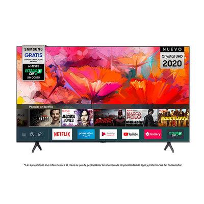 """LED 65"""" Samsung TU6900 Smart TV Crystal 4K UHD 2020"""