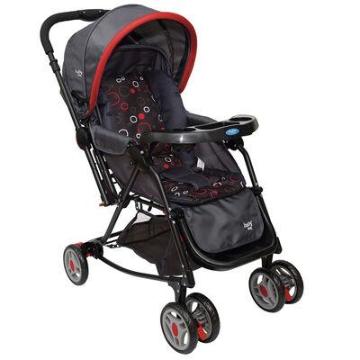 Coche Cuna Balancín Baby Way Bw-309 Rojo