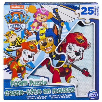Paw PatrolPuzzle Foam 25 Piezas