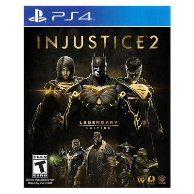 Juego PS4 Injustice 2 Legendary Edition