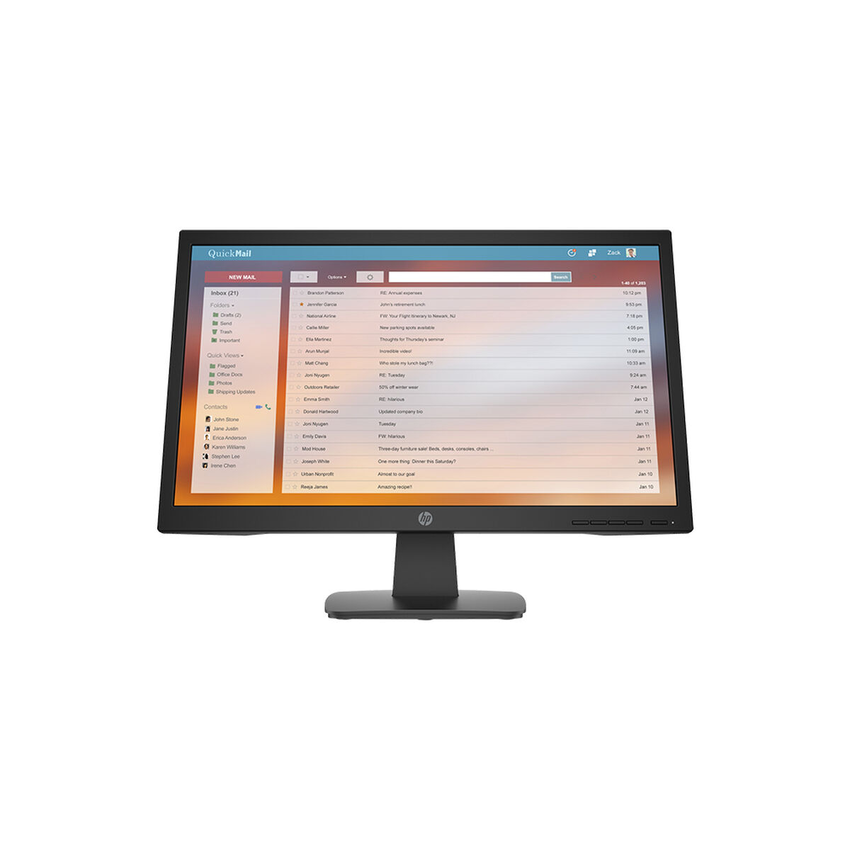 """Monitor HP P22v 21.5"""" FHD"""