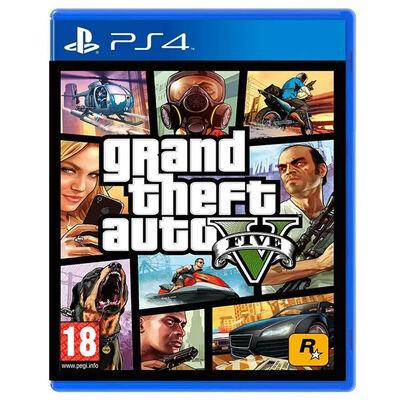 Juego PS4 Grand Theft Auto V (Europeo)