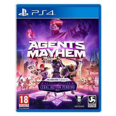 Juego Playstation 4 Agents of Mayhem