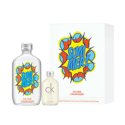 Ck One Summer Edt 100 Ml + Ck One Edt 15ml