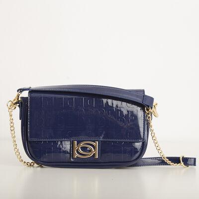 Cartera Bebe Alexandra Patent Shoulder Bag