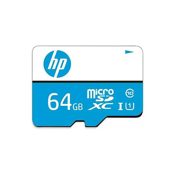Tarjeta Micro SD XC HP 64GB Clase 10 con Adaptador