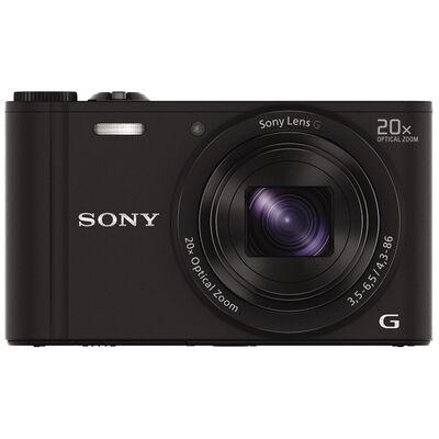 "Camara Sony DSC WX350 2,7"" Negro"
