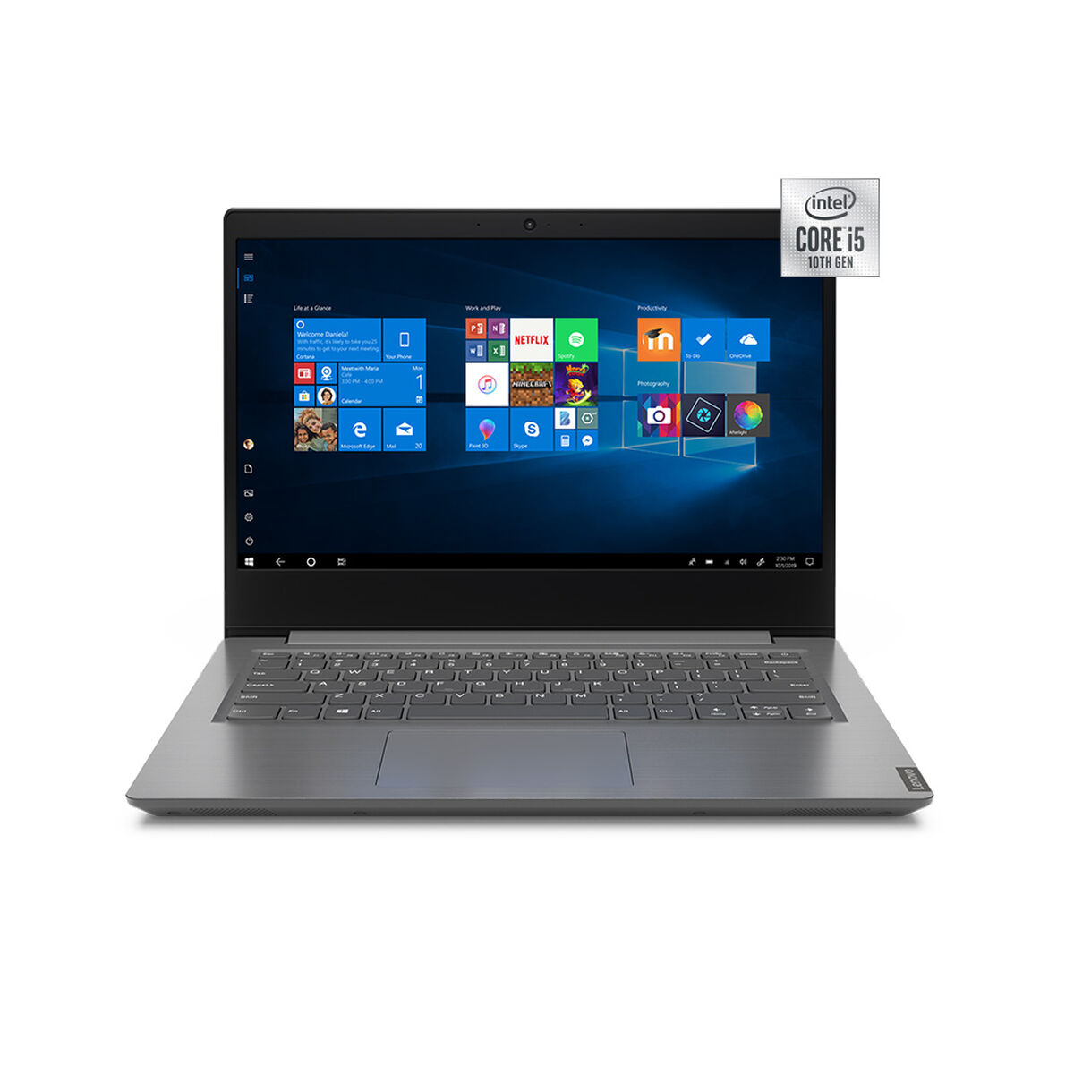 Notebook Lenovo V14-IIL Core i5 4GB 256GB SSD 14""