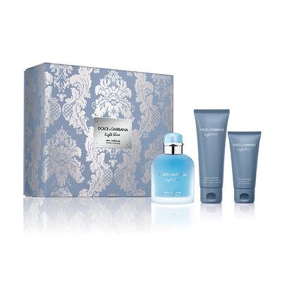 Light Blue Pour Homme Eau Intense EDT 100 ml +  Shower Gel +  After shave
