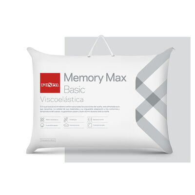 Almohada Rosen Memory Max 42 x 62 cm