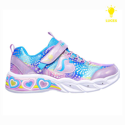 Zapatilla Con Luces Niña Skechers Sweetheart