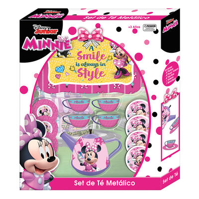 Set De Te Metalico Minnie Disney
