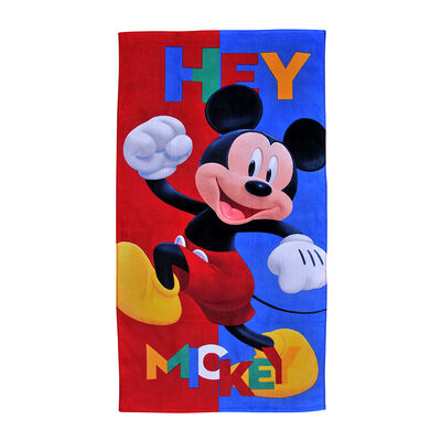 Toalla de Playa Mickey Hey 70X140 Cm